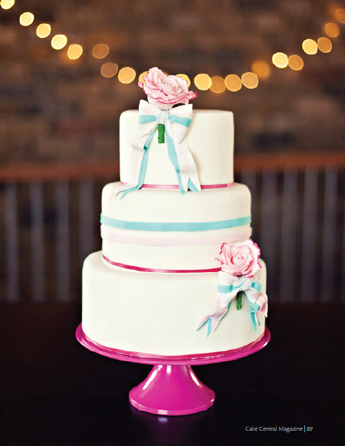 Featured on Cake Central magazine!