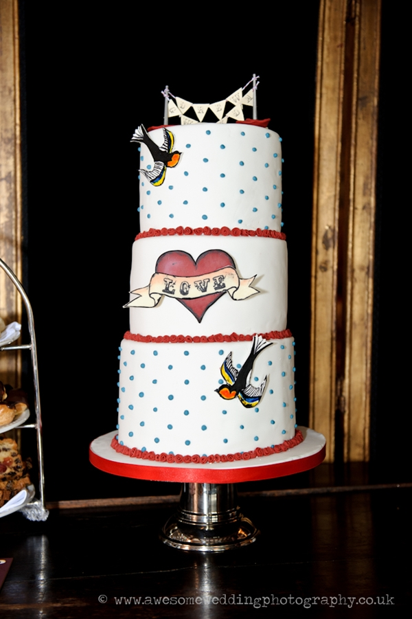 Rockabilly Wedding Cake ♡ London
