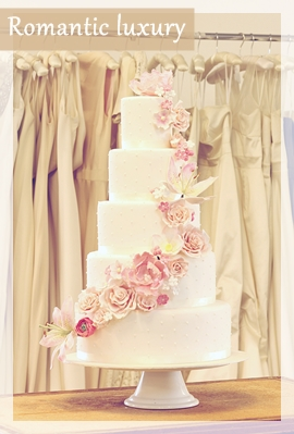 romantic wedding cake london