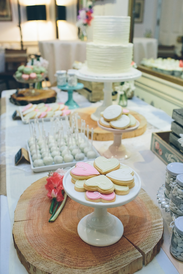 dessert table in west london