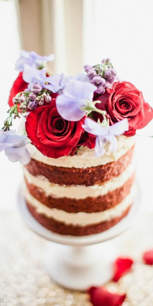Red Velvet Birthday Cake London
