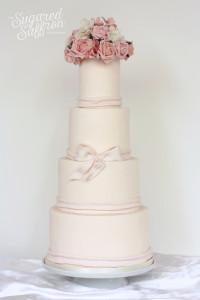 simple wedding cake from london wedding cake maker
