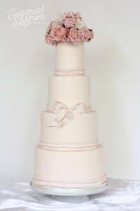 simple wedding cake from london wedding cake maker