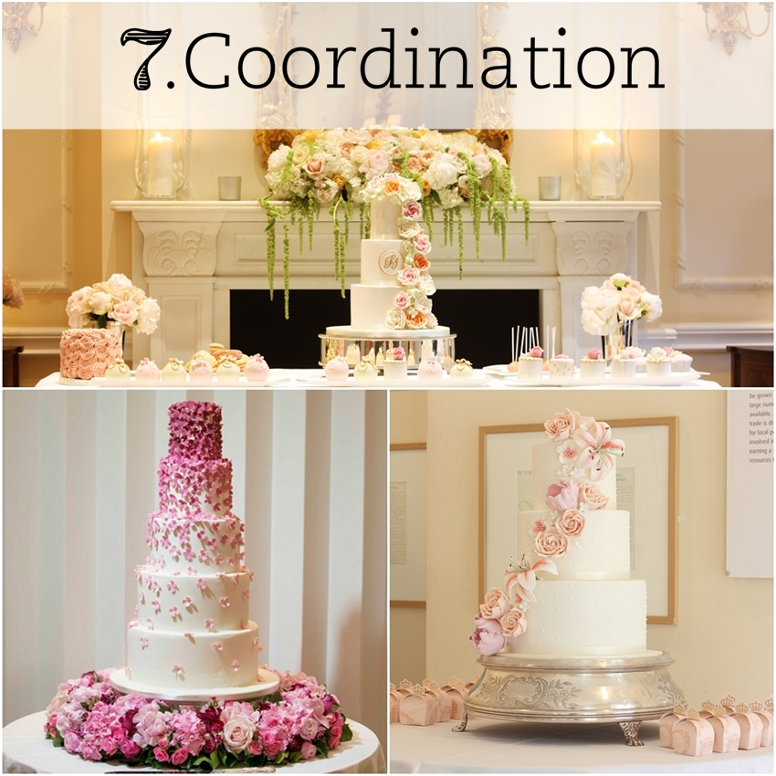 stylish wedding cake trend london