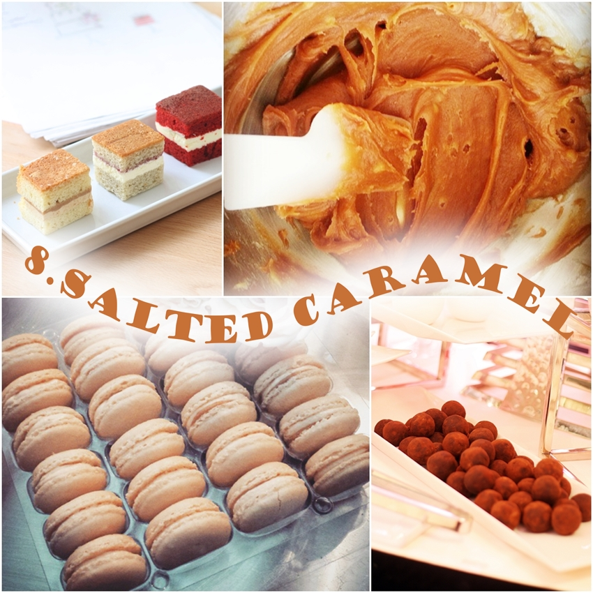 salted caramel trend 2016 wedding cake