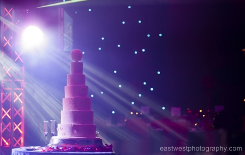 Tall asian wedding cake london