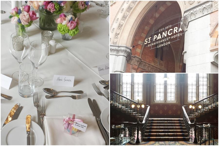 St pancras renaissance spring wedding
