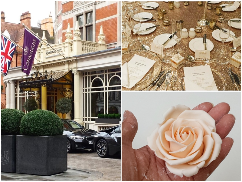 An intimate wedding at The Connaught Hotel