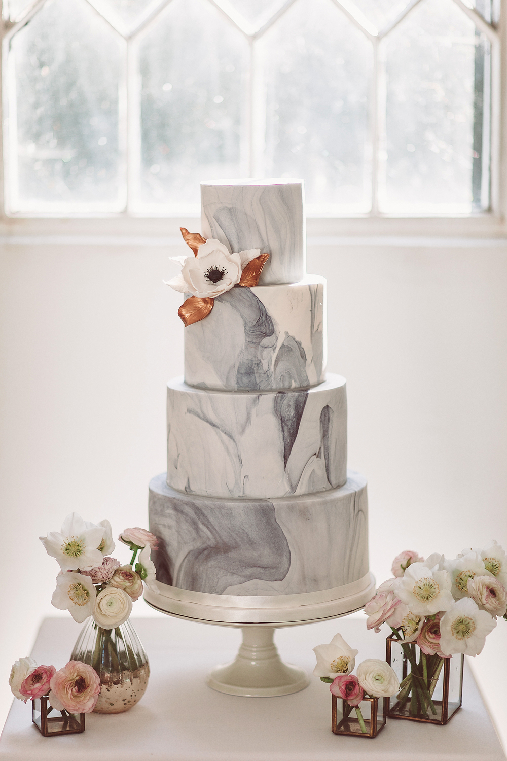 The Original London Marble Wedding Cake