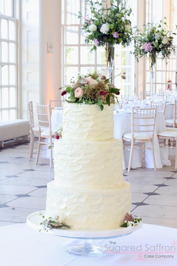Kew gardens wedding cake