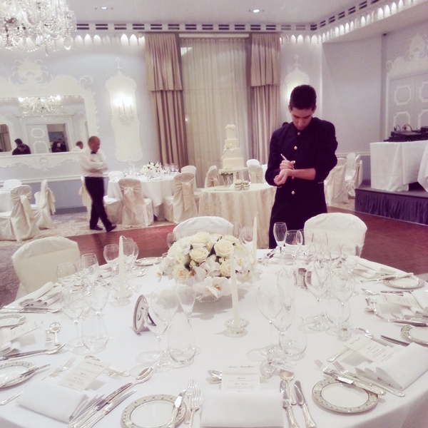 Wedding Orchid Room Dorchester