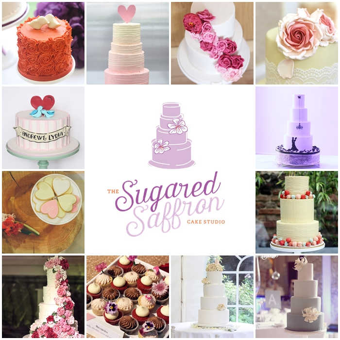 Modern wedding cakes London