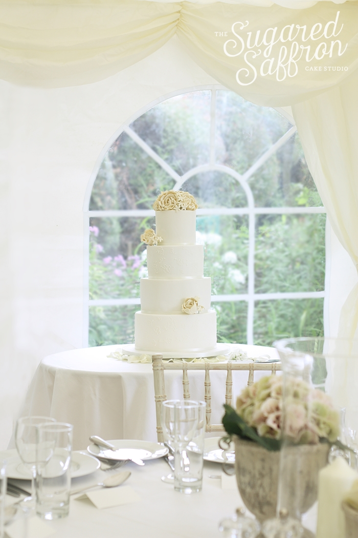 White and Ivory cake hampshire