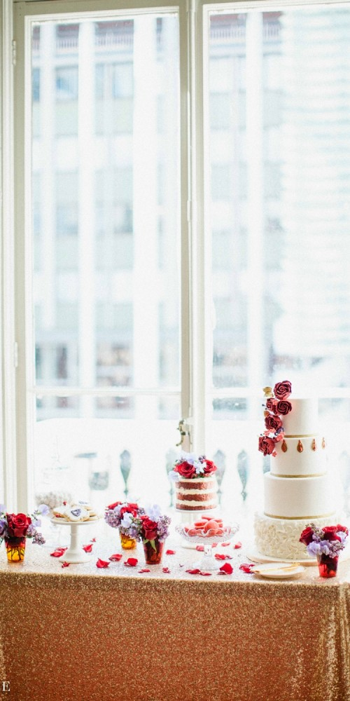 Luxury dessert table