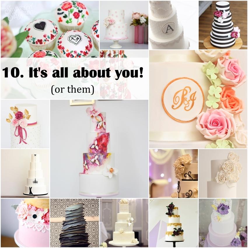 top 10 wedding cake trends uk