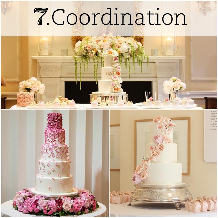 stylish wedding cake trend london