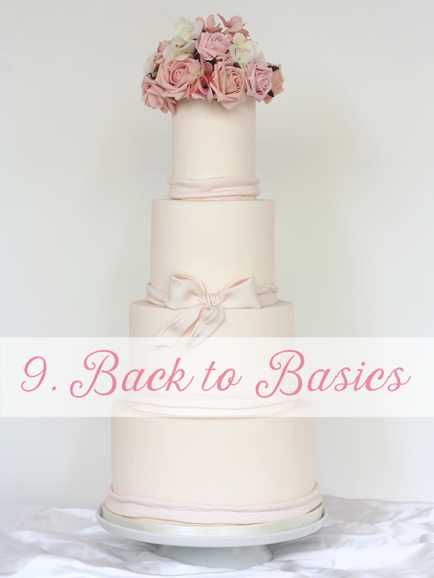 modern wedding cake trend london 2016