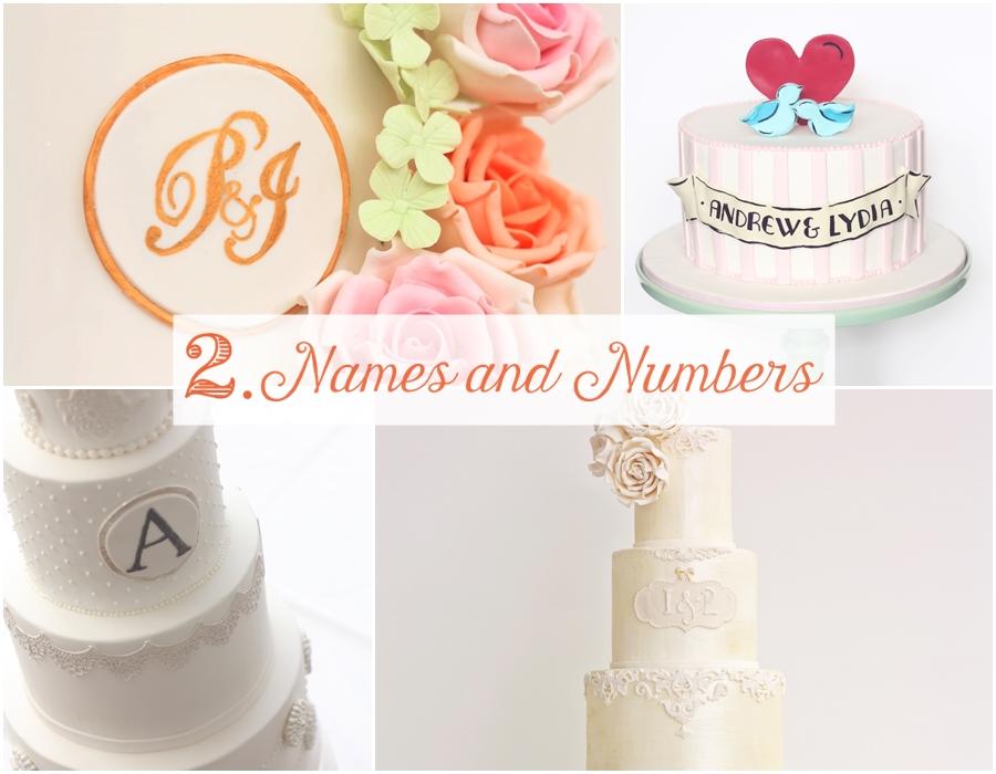 Wedding cake trend number 2