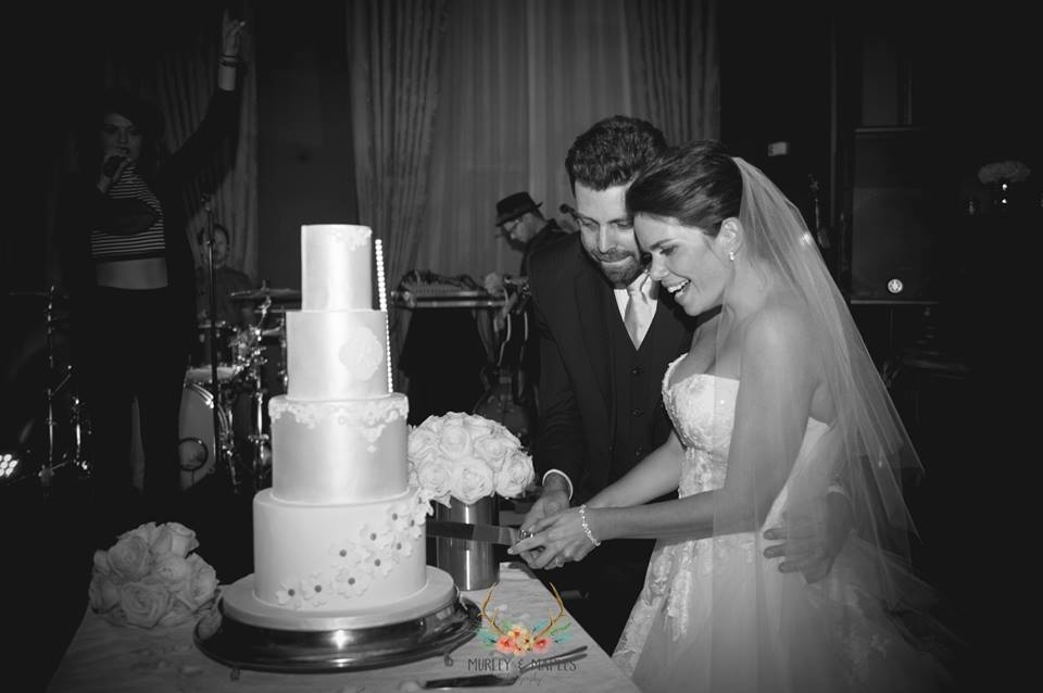 st pancras wedding cake by murley and maples