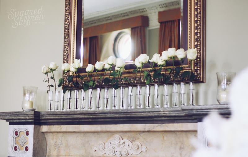 St pancras wedding matlepiece
