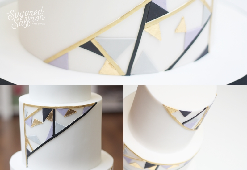 Art deco triangles