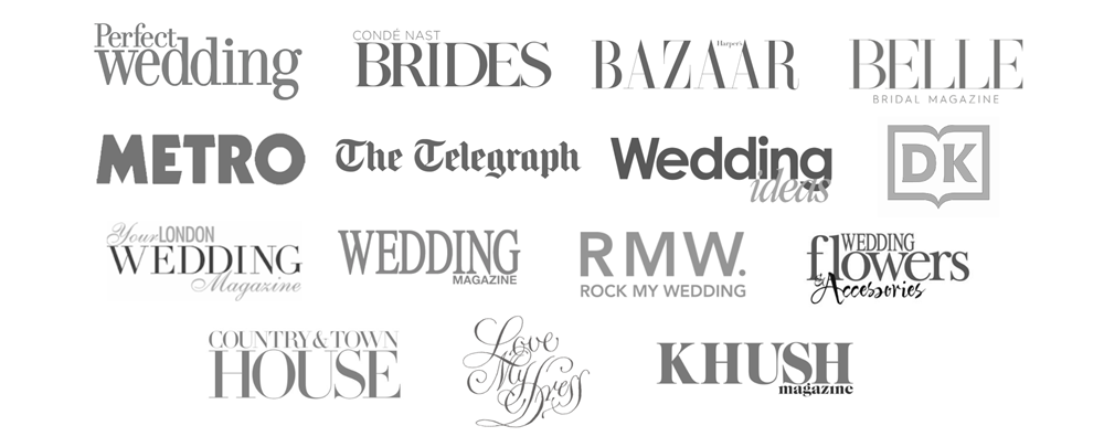 best wedding cake maker PR features in london