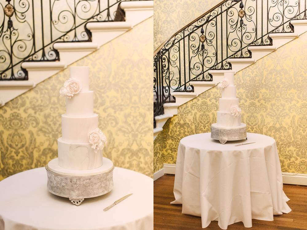 luxury wedding cake at hedsor house