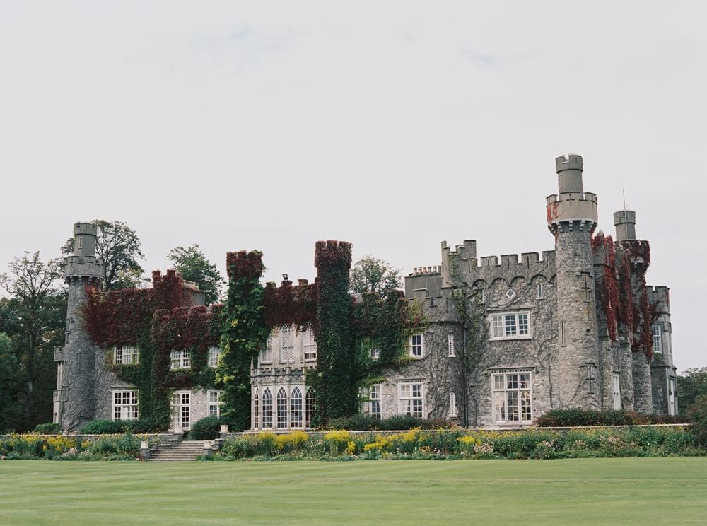 luxury destination wedding at luttrellstown castle