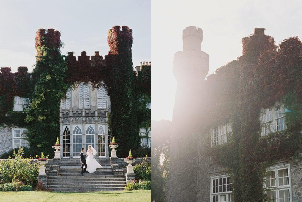 destination wedding in dublin at luttrellstown castle