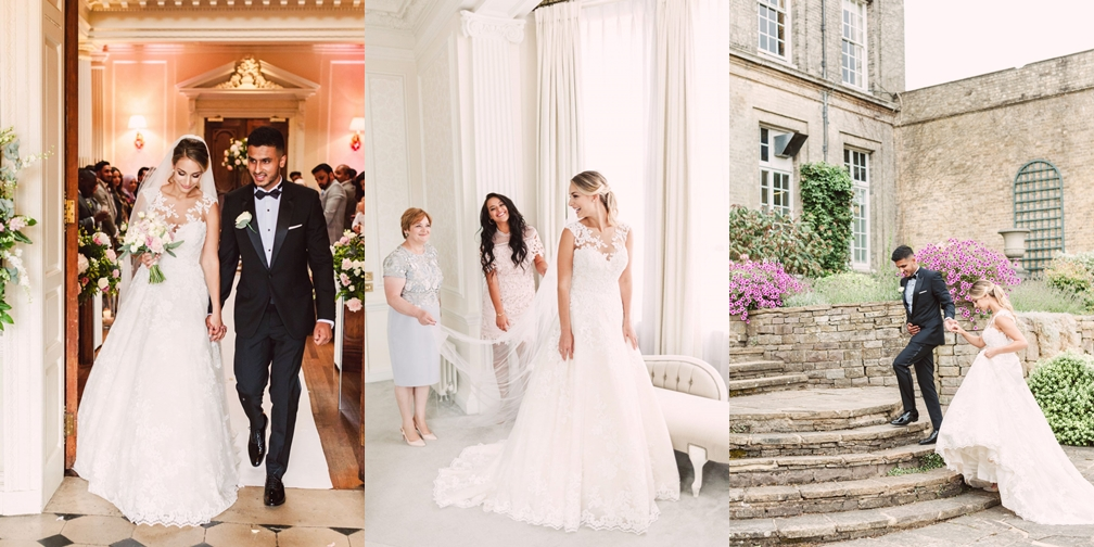 luxury fine art wedding at hedsor house